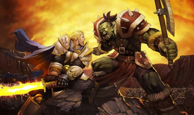 Warcraft 3 Orc Vs Human 1180x700 Download Hd Wallpaper Wallpapertip