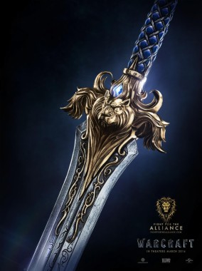 Warcraft Movie Alliance Poster Wow Alliance Sword Wallpaper 4k
