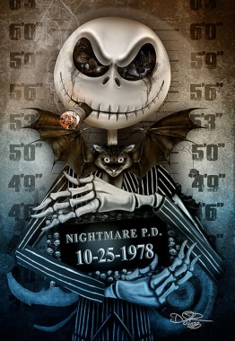 67 679535 scary nightmare before christmas