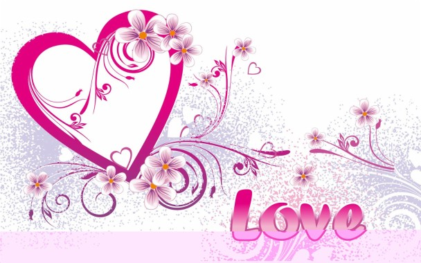 7 75259 cute heart and love wallpapers with different backgrounds