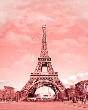 Paris In Pink Eiffel Tower Paris Decor France Digital Paris Eiffel Tower Pink 1200x1500 Download Hd Wallpaper Wallpapertip