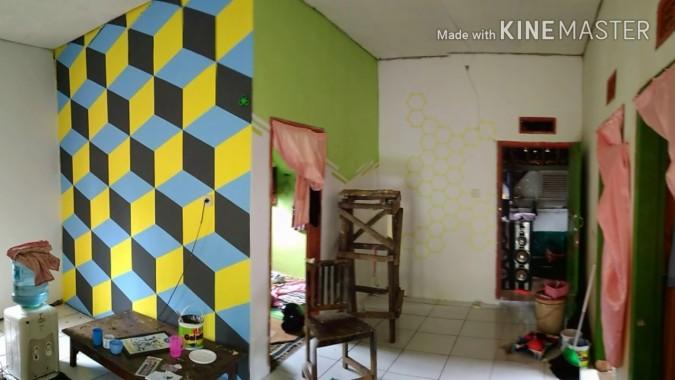 3d Cat Dinding Kamar Keren Youtube Cat Dinding Menggambar 3d 1280x720 Download Hd Wallpaper Wallpapertip