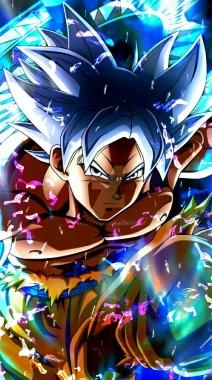 Goku Ultra Instinct Wallpaper Iphone 598x1069 Download Hd Wallpaper Wallpapertip