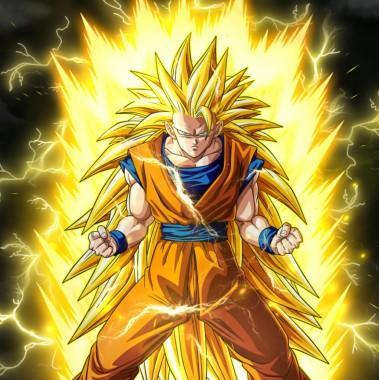 Son Goku Super Saiyan 3 1411x1411 Download Hd Wallpaper Wallpapertip