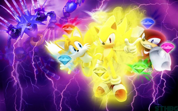486665 Title Video Game Sonic Heroes Sonic Super Super Sonic The Hedgehog Background 1920x1200 Download Hd Wallpaper Wallpapertip