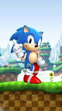 Sonic The Hedgehog 3d Android Wallpaper Modern And Classic Sonic 1080x1920 Download Hd Wallpaper Wallpapertip