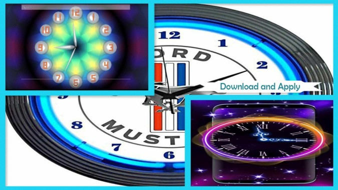 Live Wallpaper With Analog Clock 2018 - 1024x500 ...