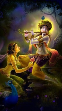 Lord Krishna Hd Wallpapers For Mobile Full Hd God Krishna 1200x1920 Download Hd Wallpaper Wallpapertip