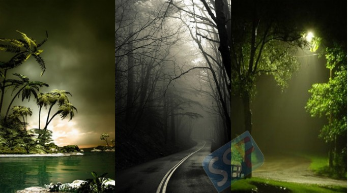 Wallpapers And Themes For Mobile And Iphone Samsung Night Rain Nature Wallpaper For Mobile 720x400 Download Hd Wallpaper Wallpapertip