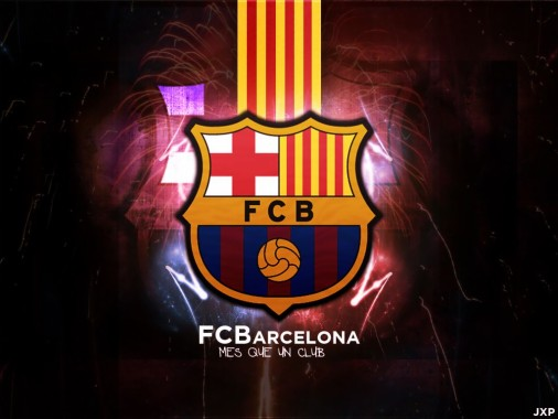 fc barcelona 4k catalan football club blue flag fc barcelona logo flag 710x444 download hd wallpaper wallpapertip fc barcelona 4k catalan football club