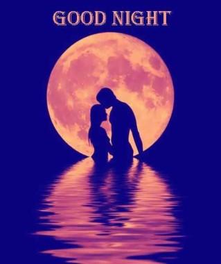 Romantic Love Good Night 500x595 Download Hd Wallpaper Wallpapertip