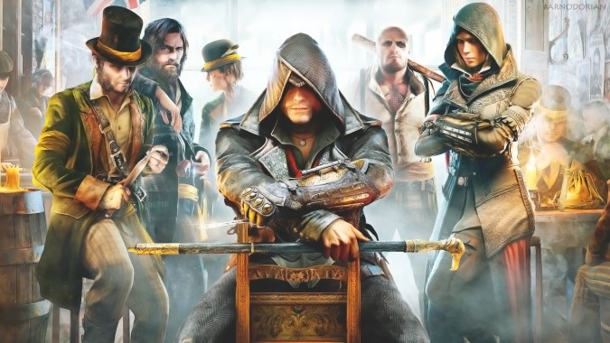 Assassin Creed Syndicate Title Screen 1280x720 Download Hd