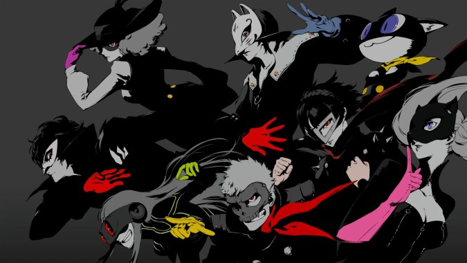 Gorgerous Persona 5 Wallpaper Src Gorgerous Persona Persona 5 End Credits 1920x1080 Download Hd Wallpaper Wallpapertip