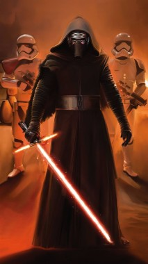 The Force Awakens Wallpapers For Your Iphone 6s And Kylo Ren 1440x2560 Download Hd Wallpaper Wallpapertip