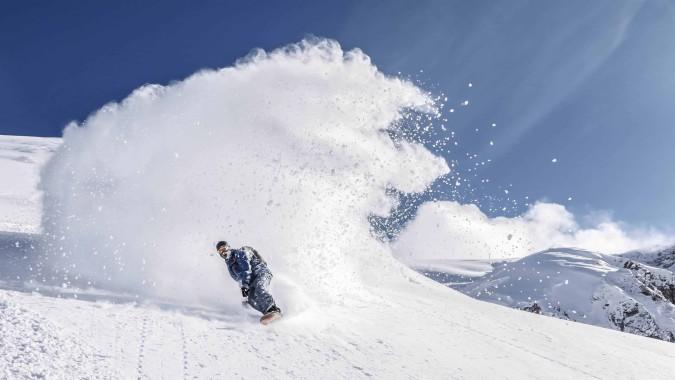Snowboarding In Fresh Powder Uhd 4k Wallpaper Snowboarding Wallpaper 4k 3840x2160 Download Hd Wallpaper Wallpapertip