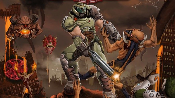 Doom Eternal Demons 1000x600 Download Hd Wallpaper Wallpapertip