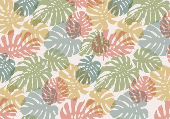 94 948422 pastel background daun vector motif