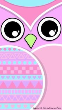 94 948458 wallpaper pink lucu owl wallpaper cute