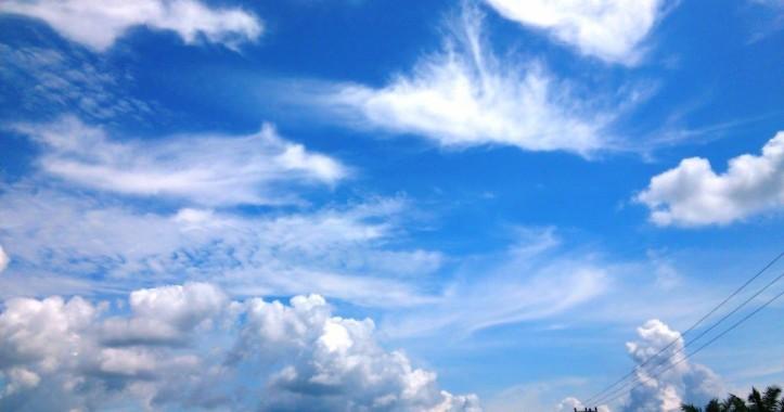 Foto Langit Gambar Awan Sunny Sky Background Hd 1600x1000 Download HD Wallpaper