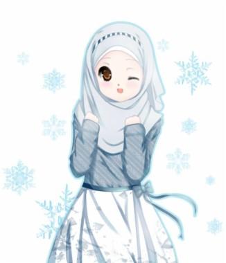 Lucu Gambar Kartun Muslimah 768x893 Download Hd Wallpaper Wallpapertip