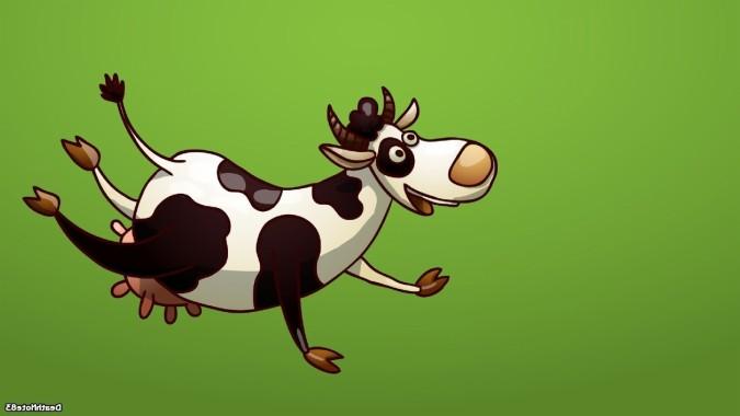 95 950078 wallpaper lucu sapi terbang gambar kartun lucu dan