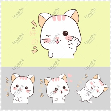 95 950140 wh860 gambar kartun kucing lucu