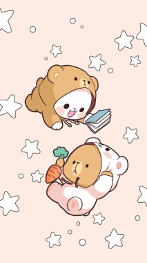 Wallpaper Whatsapp Kartun Lucu - Milk And Mocha Bears ...