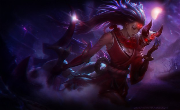 Blood Moon Yasuo Wallpaper Hd 1280x720 Download Hd Wallpaper Wallpapertip