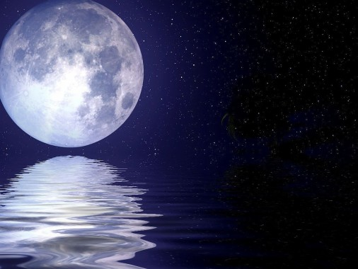 Moon And Stars Wallpapers Free Moon And Stars Wallpaper Download Wallpapertip
