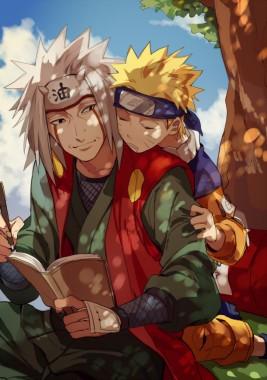 Naruto With Jiraiya 800x1135 Download Hd Wallpaper Wallpapertip