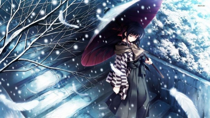 Girls Sad Anime Wallpaper Link Wallpapers Sad Alone Cartoon Girl 1366x768 Download Hd Wallpaper Wallpapertip